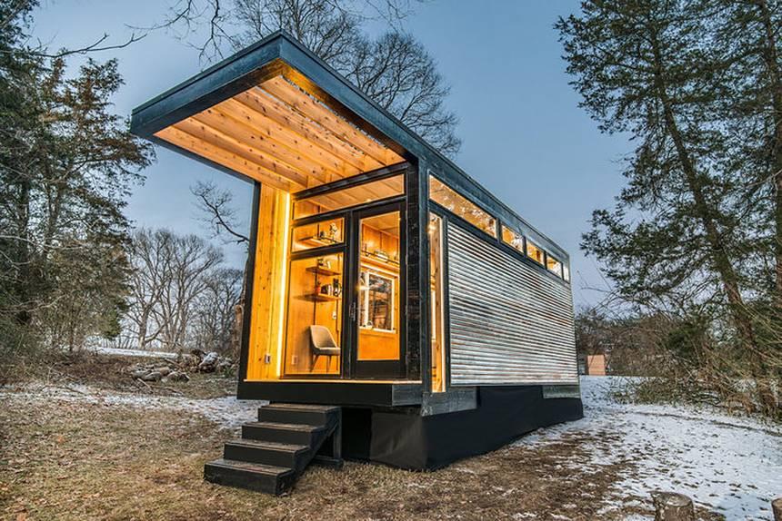 海外最新情報 柔軟な発想が生んだ 小さくて快適な家 タイニーハウスが